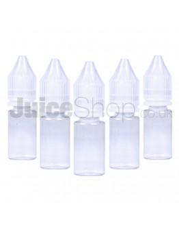 Empty 10ml E-liquid Bottles (x5)