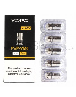 VooPoo PnP-VM6 Coils (0.15Ω)