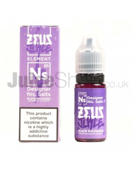 Black Reloaded by Zeus Juice (10ml)
