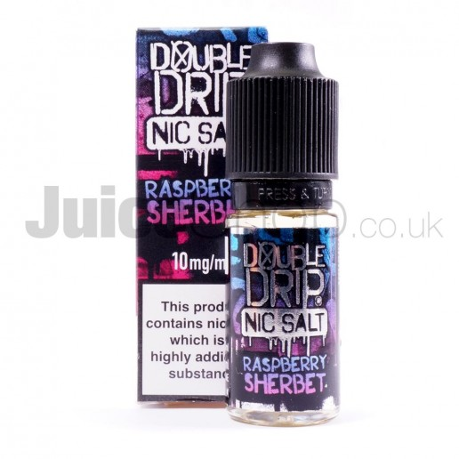 Raspberry Sherbet Nicsalts by Double Drip (10ml)