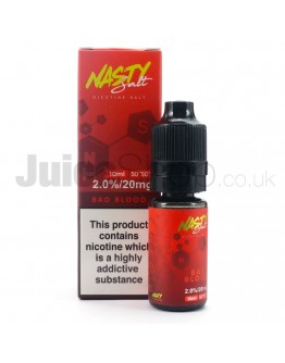 Bad Blood by Nasty Salts (10ml)