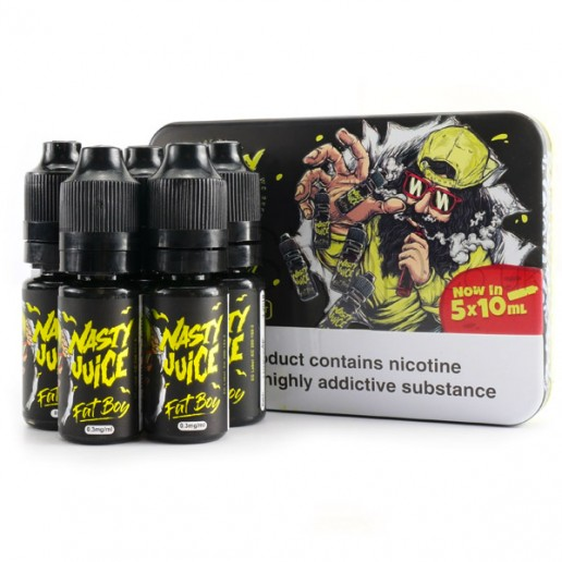 Fat Boy by Nasty Juice (5x10ml)