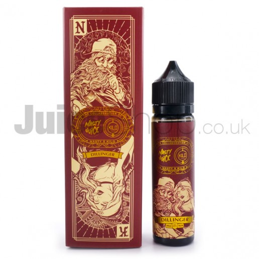 Dillinger by Nasty Juice & Kilo (50ml)