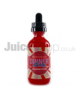 Strawberry Custard by Dinner Lady (50ml)