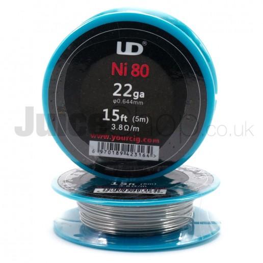 UD Ni80 Wire 22ga (15ft)