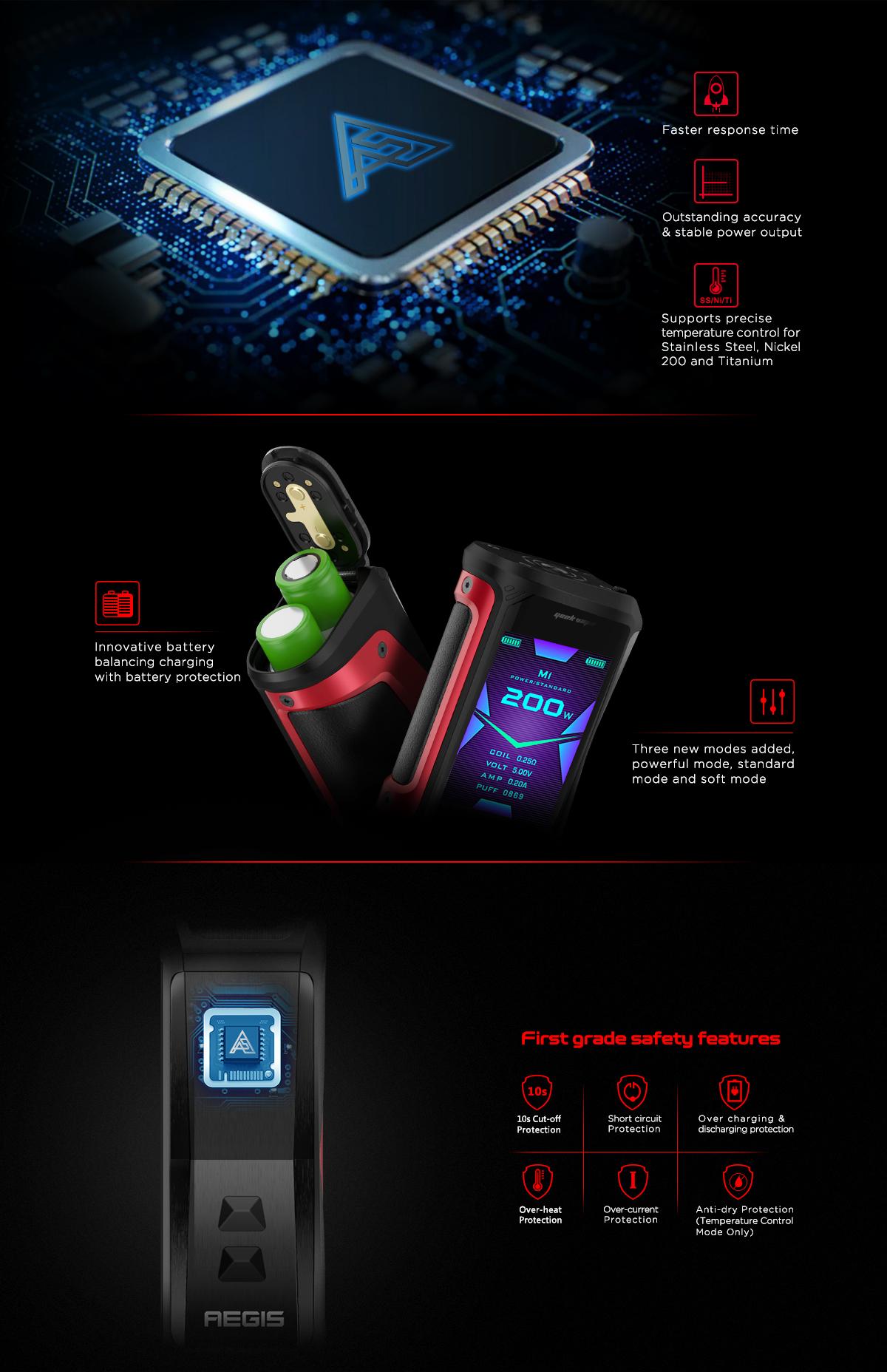 New Geek Vape Aegis-X Waterproof Vape Kit | Juice Shop® UK
